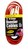 ROADPRO 12' 10-GAUGE BOOSTER CABLES