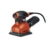 BLACK & DECKER 2.0 AMP 1/4 SHEET FINISHING SANDER WITH CONVEXGRIP
